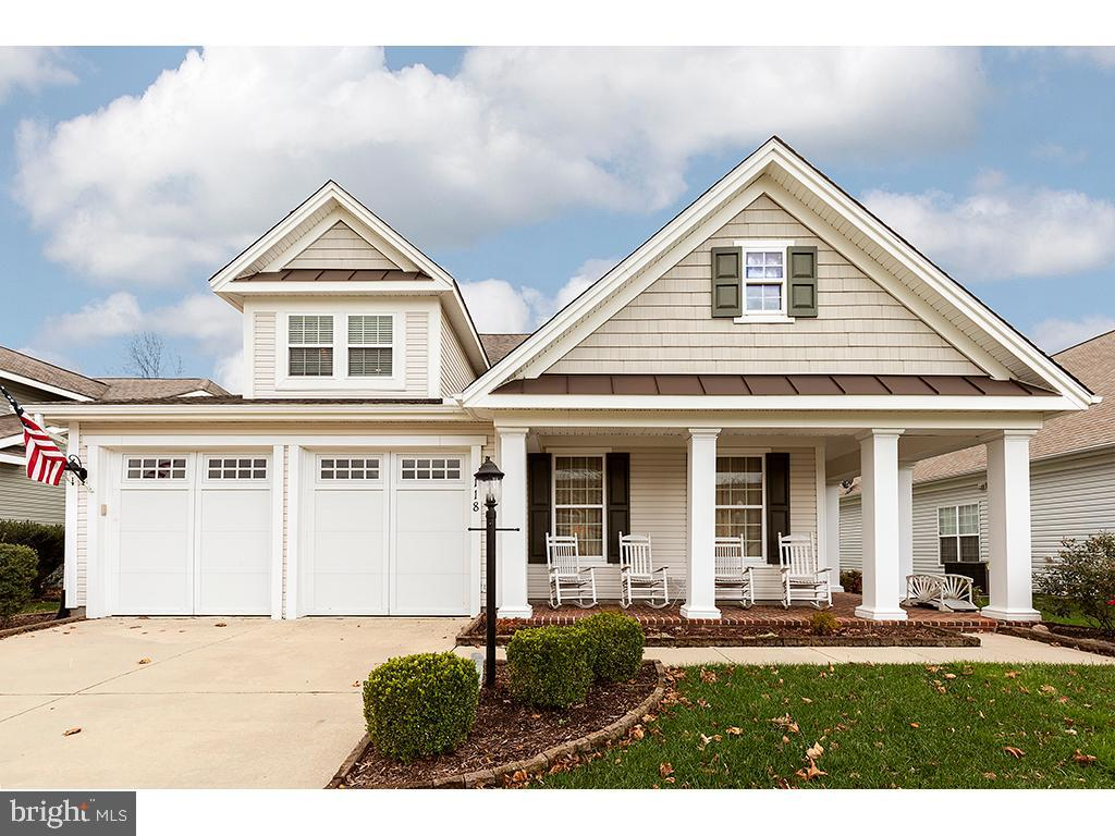 Bridgeville DE Single Family Home Real Estate Sales - 118 Emilys Pintail Heritage Shores  For Sale
