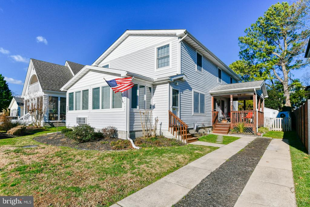 Rehoboth Beach DE Single Family Home Real Estate Sales - 343 Hickman Street Country Club Estates  For Sale