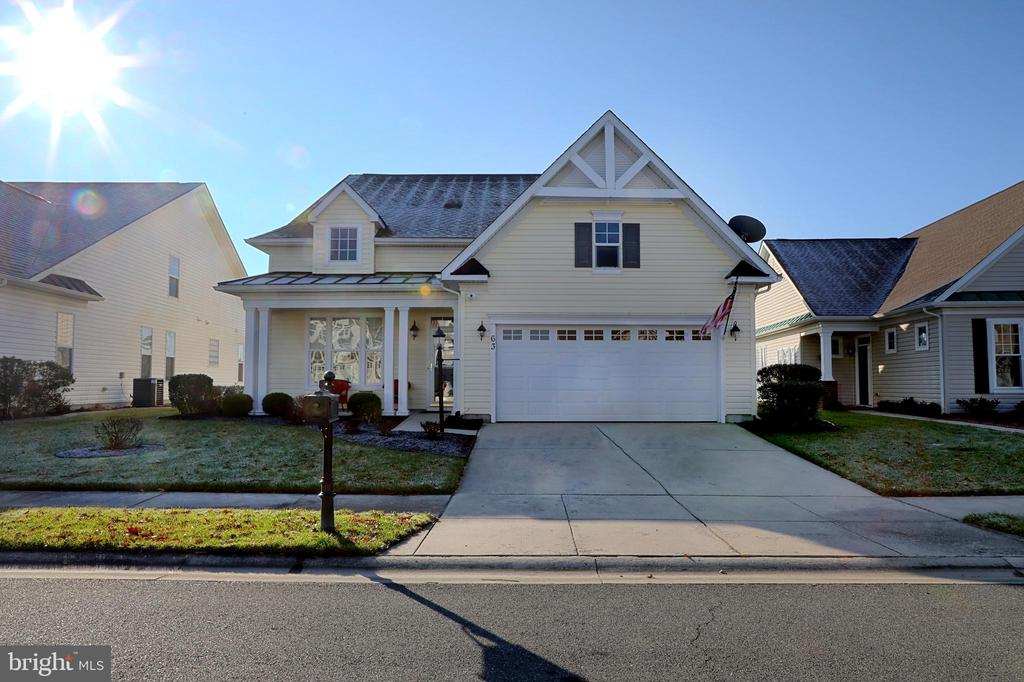 Bridgeville DE Single Family Home Real Estate Sales - 63 Emilys Pintail Heritage Shores  For Sale