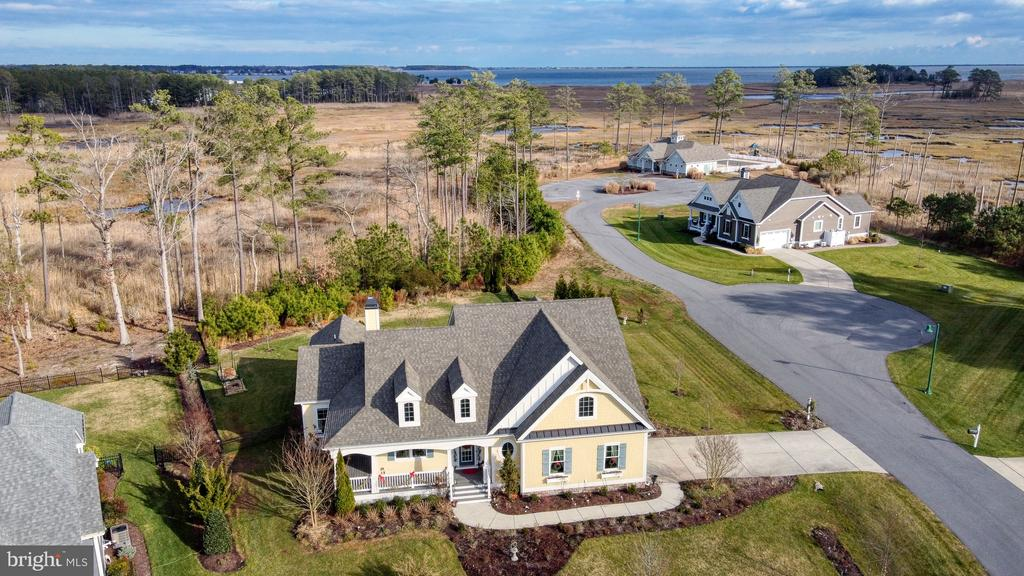 Lewes DE Single Family Home Real Estate Sales - 31695 Sally Burton Bayfront At Rehoboth  For Sale