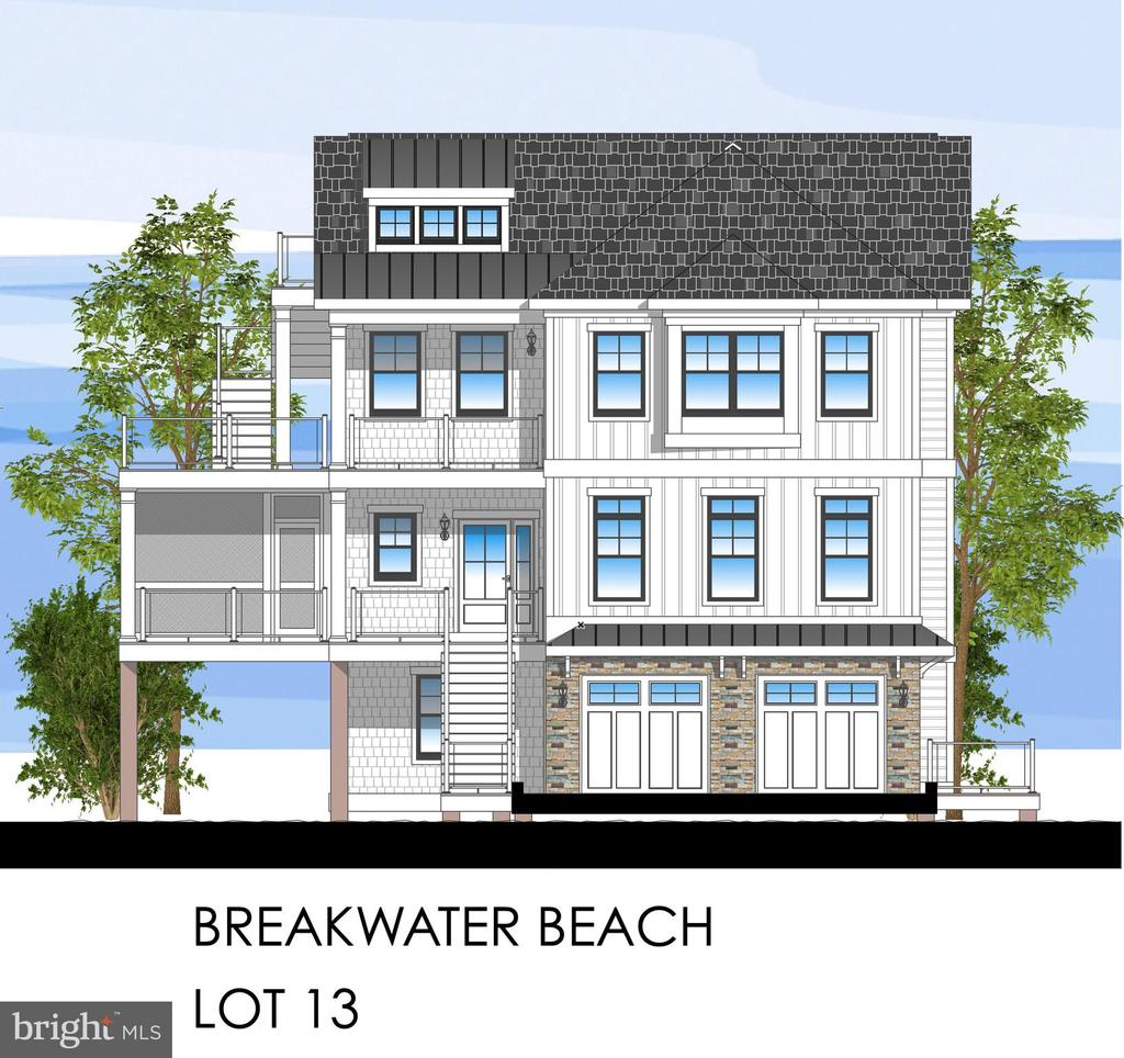 North Bethany DE Single Family Home Real Estate Sales - 39613 Michelane Court Breakwater Beach  For Sale