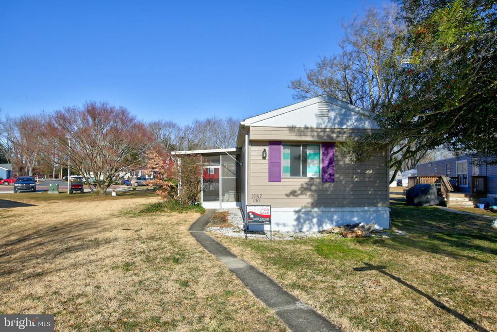 Lewes DE Mobile Home Real Estate Sales - 33317 Ships Angola Beach  For Sale