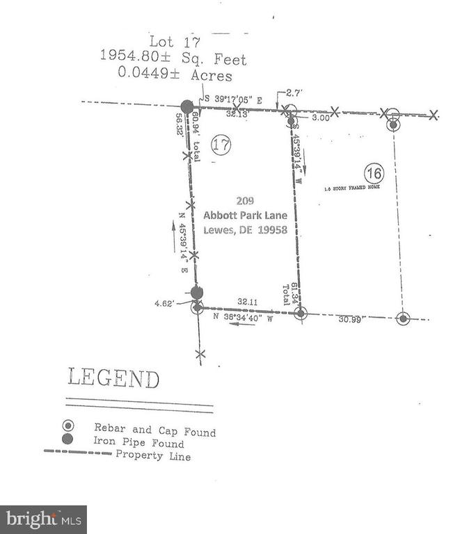 Lewes DE Building Lots, Land & Acreage Real Estate Sales - 209 Abbott Park Abbott Park  For Sale